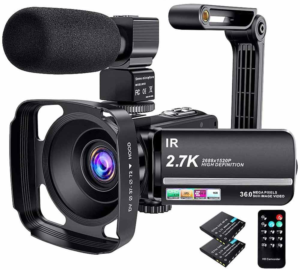 Cámara de vídeo ACTITOP 2.7 K