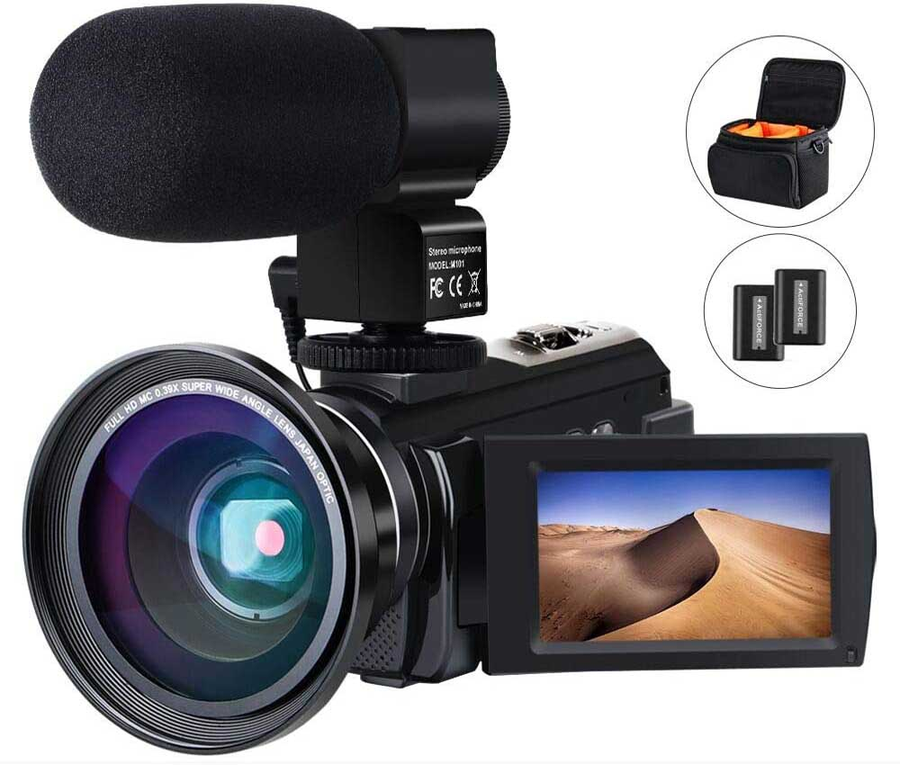 Cámara de vídeo ACTITOP 4K