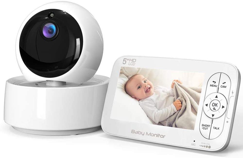 Cámara de vigilancia para bebés COOAU