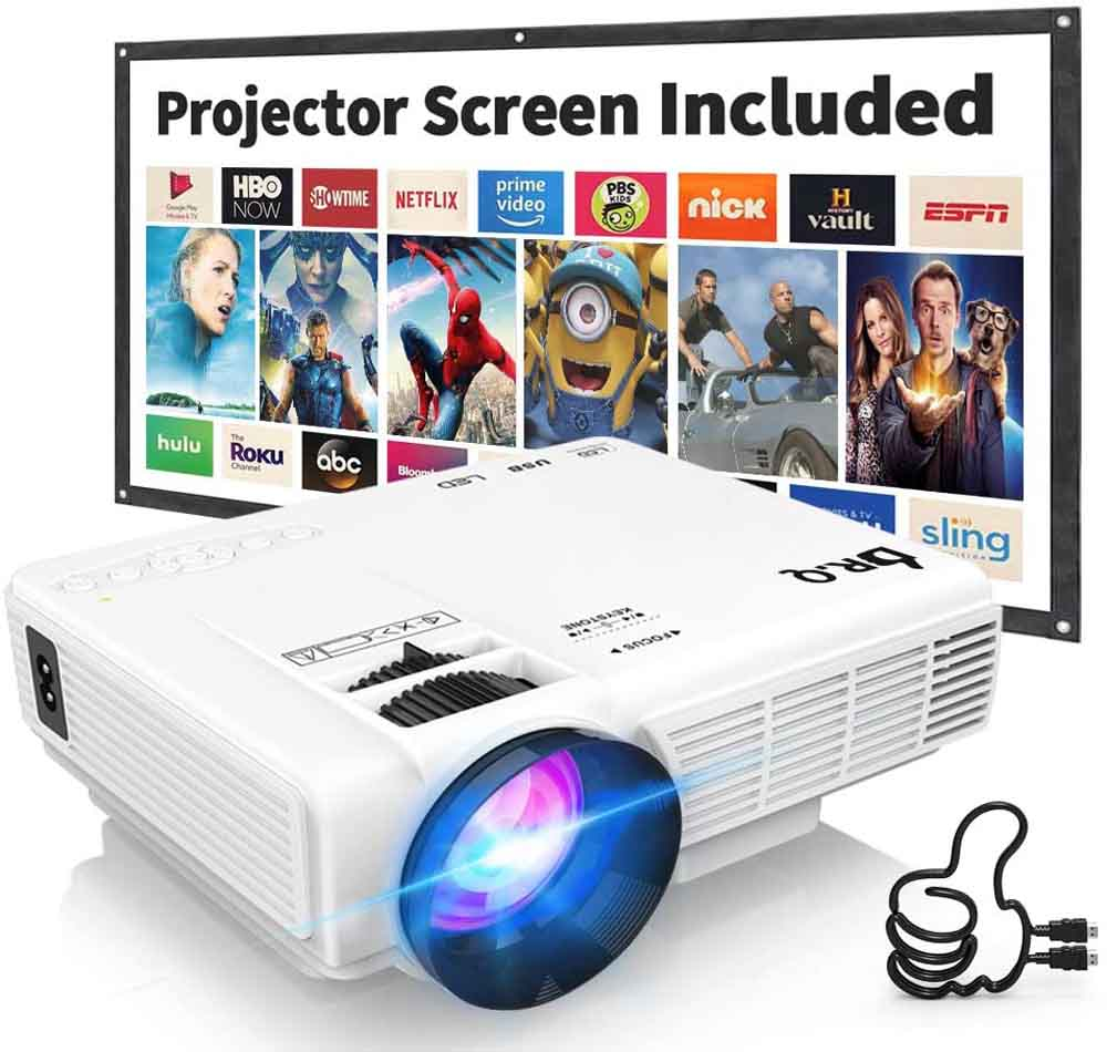 Mini proyector Proyector DR.Q HI-04
