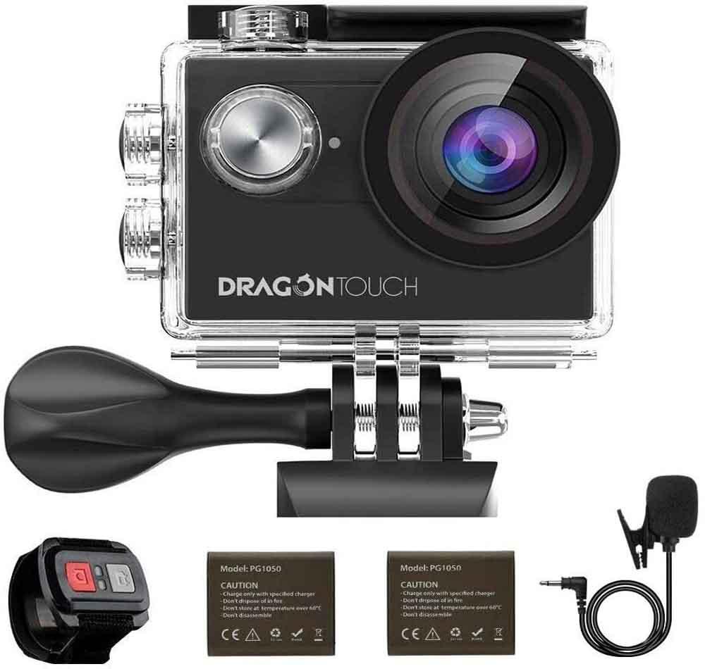 Cámara de acción Dragon Touch Vision 4-EU