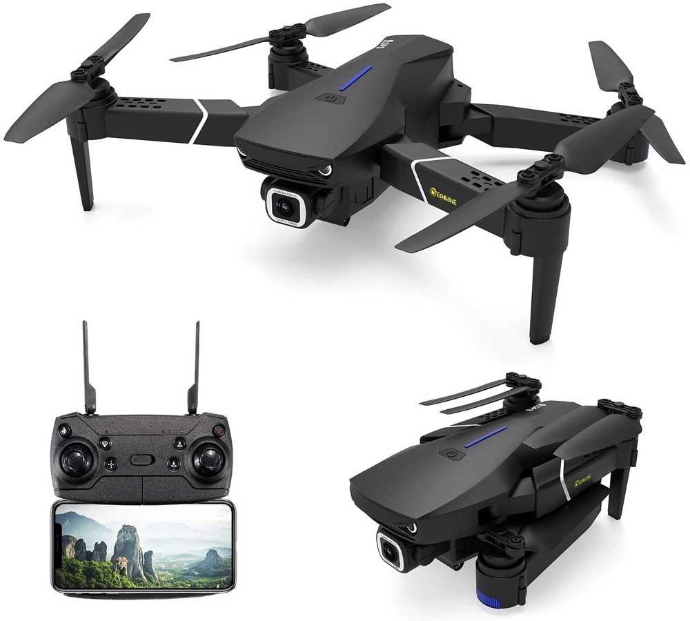 Dron con cámara EACHINE E520S