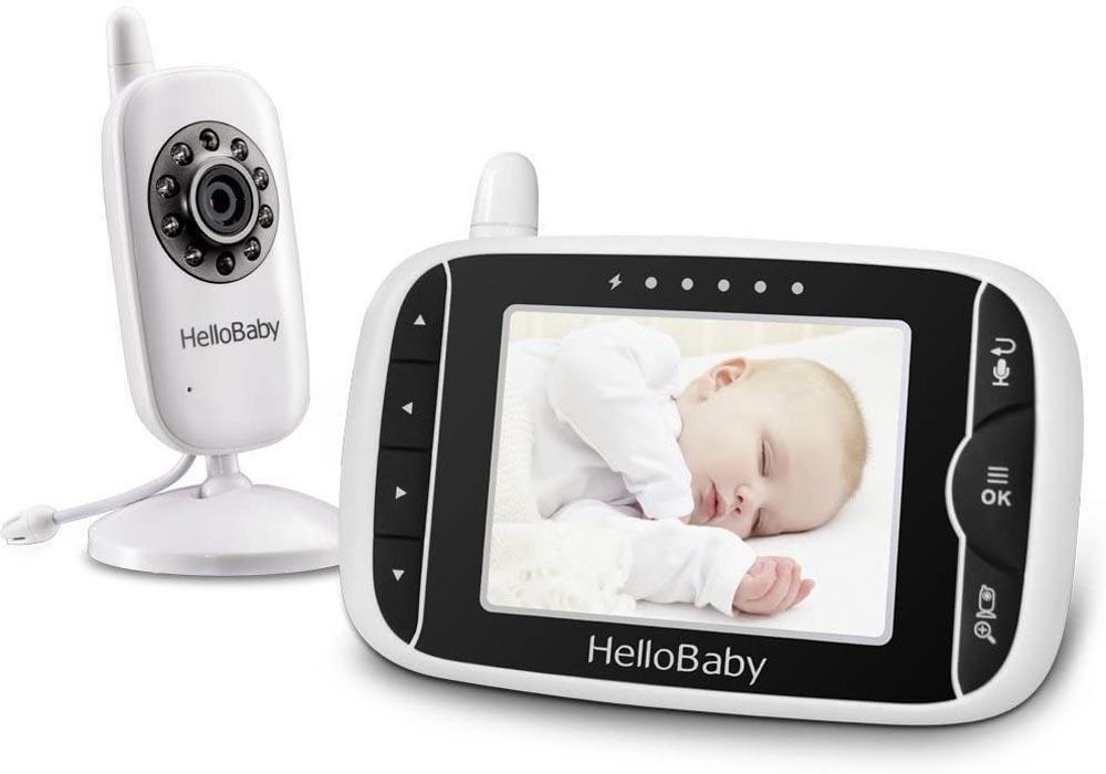 Cámara de vigilancia para bebés HelloBaby HB32