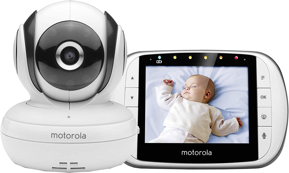 Cámara de vigilancia para bebés Motorola Baby MBP 36S/SC