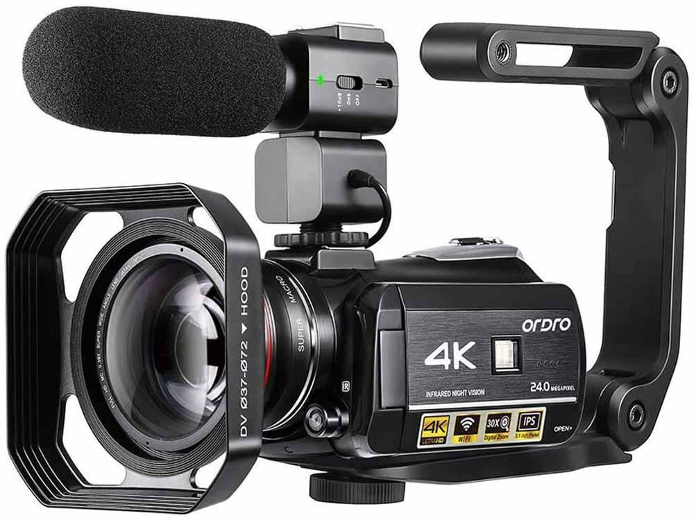 Cámara de vídeo ORDRO AC3