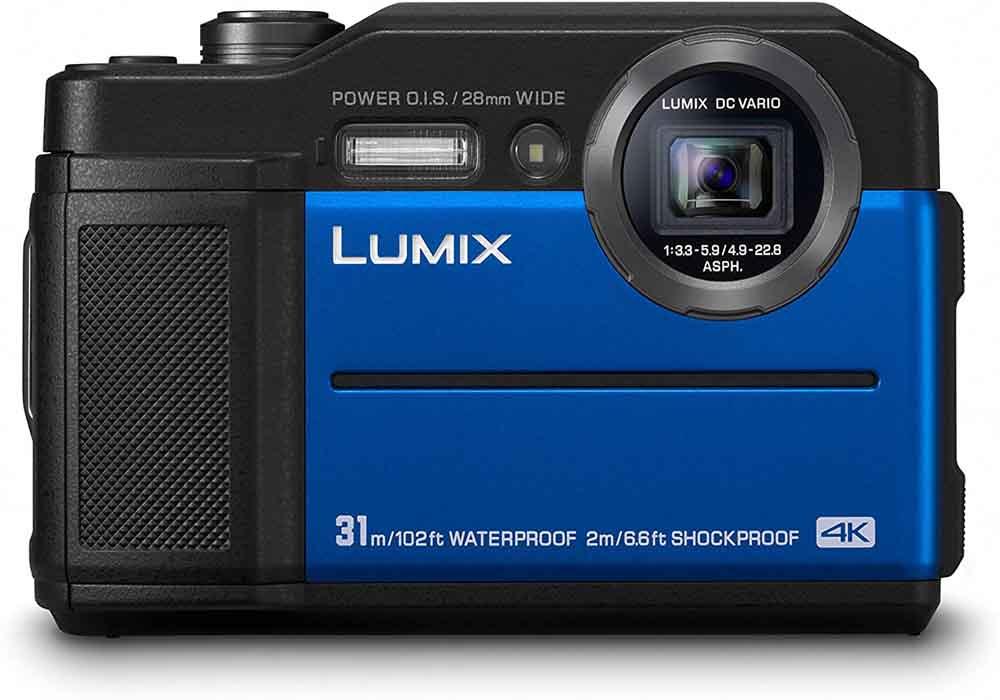 Cámara sumergible Panasonic Lumix DC-FT7EG-A