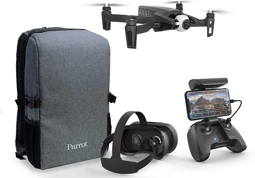 Dron profesional Parrot Anafi FPV