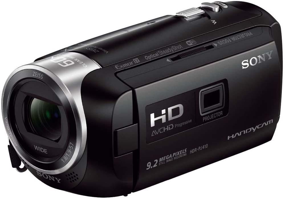 ámara de vídeo Sony HDR-PJ410