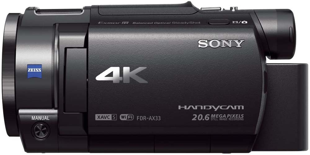 Cámara de vídeo Sony Handycam FDR-AX33