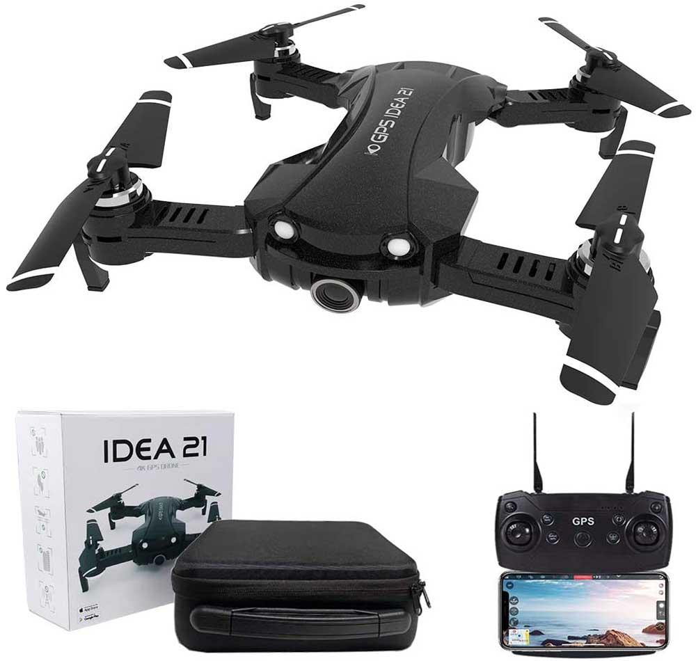Dron con cámara le-idea IDEA21
